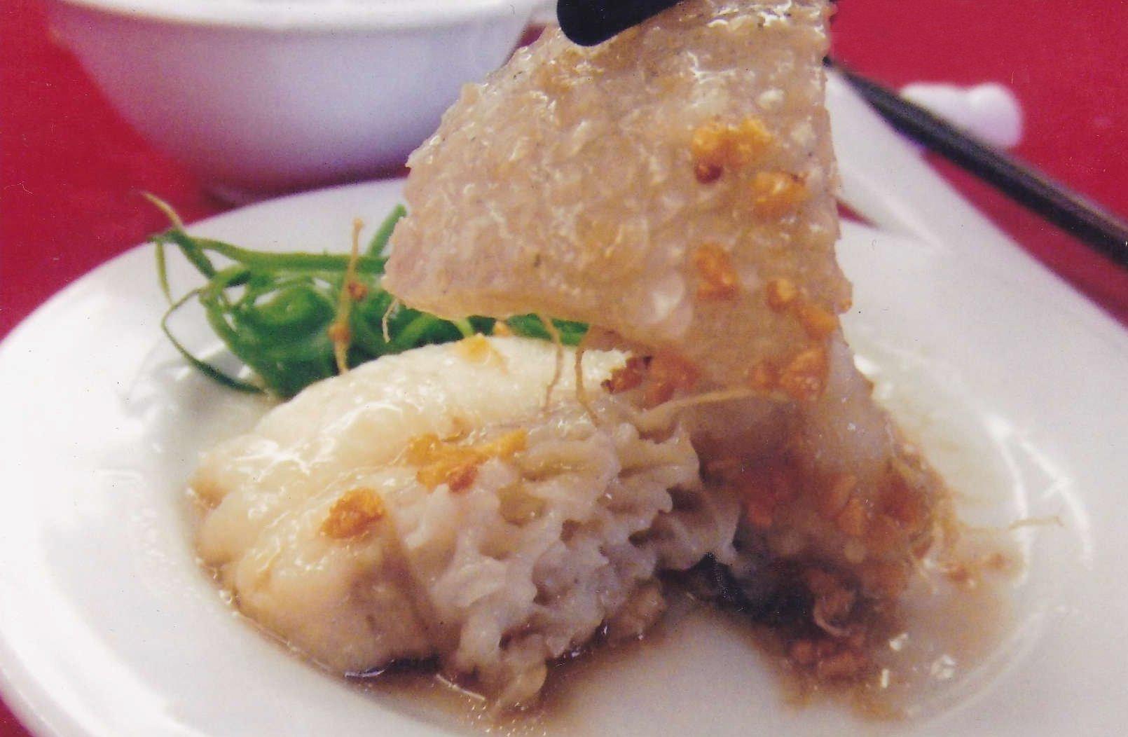 大马食神-陈皮蒸龙趸皮以酱油蒸