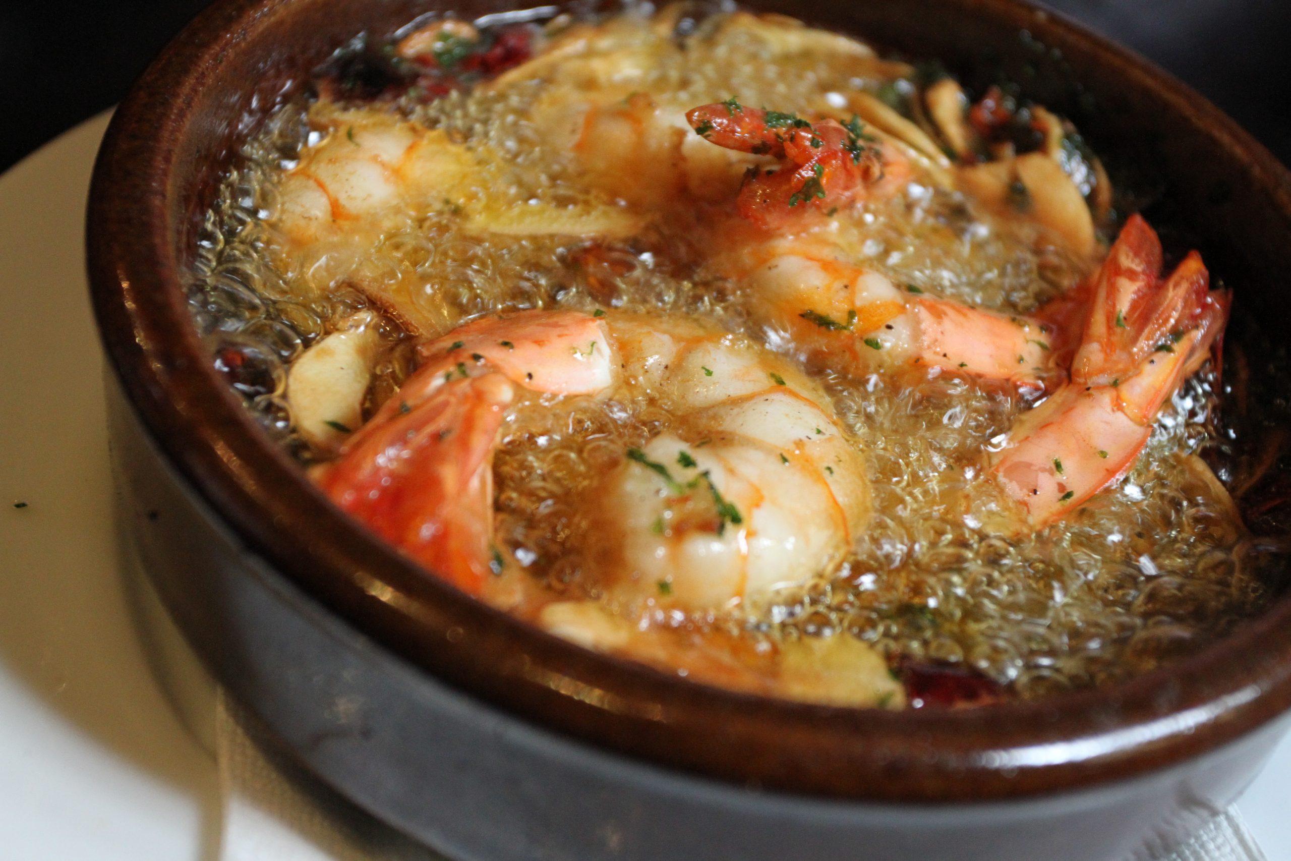 世界美食大师-西班牙大蒜虾