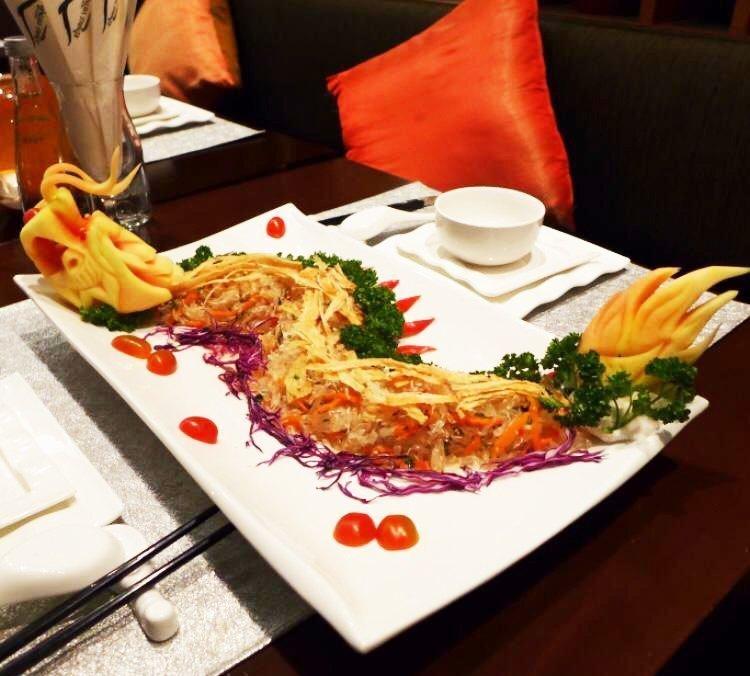 世界美食大师-越南宫廷御前菜沙律