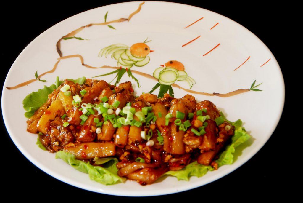 世界美食大师-鱼香茄子
