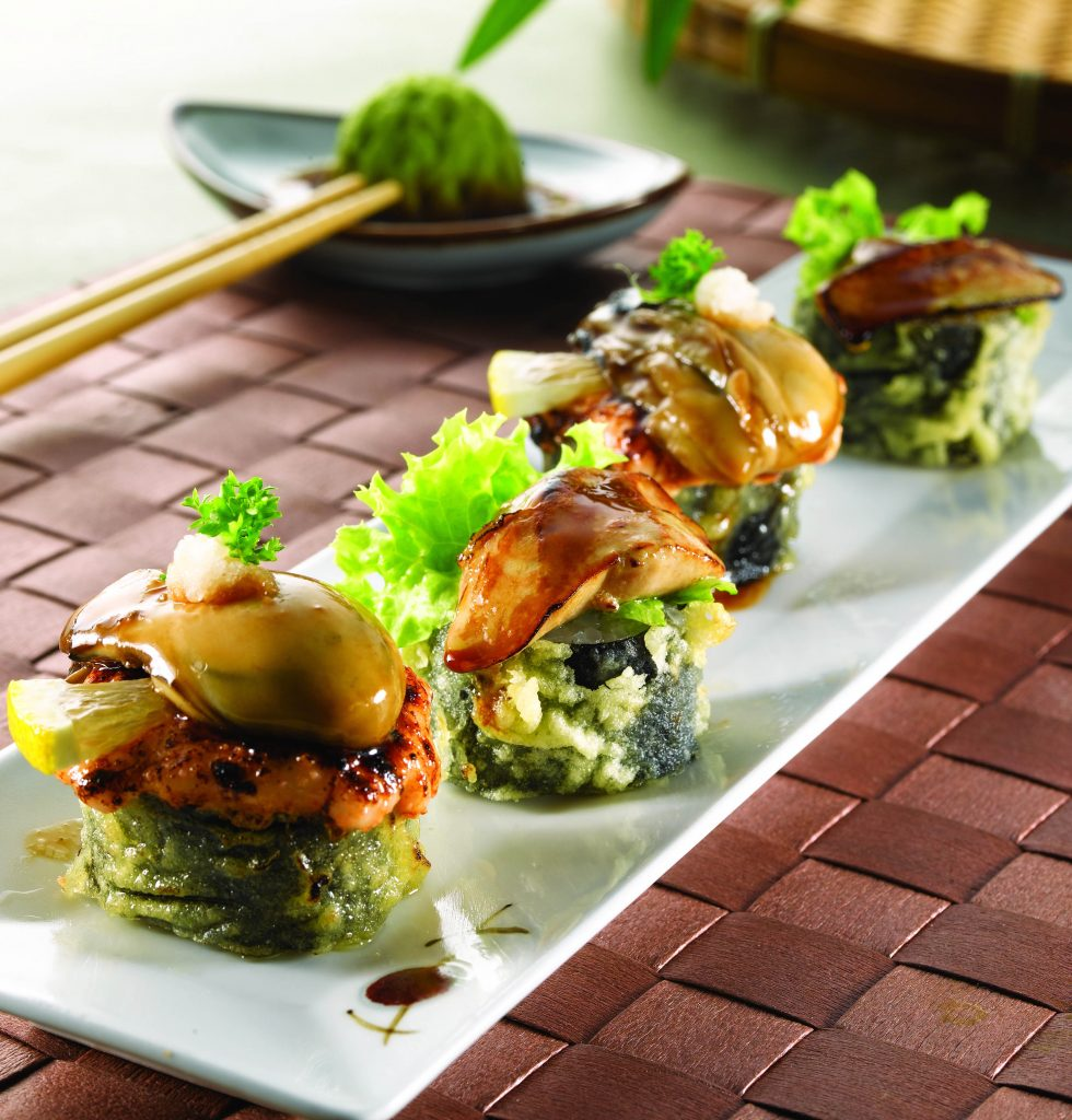 世界美食大师-日本鹅肝鳕鱼炸生蚝