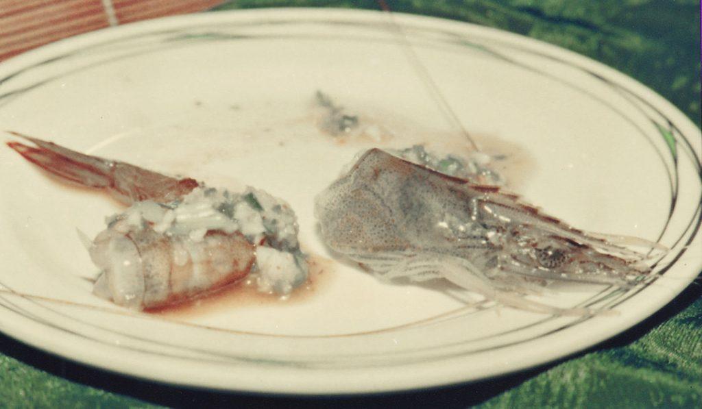 马来西亚食神-海虾生吃