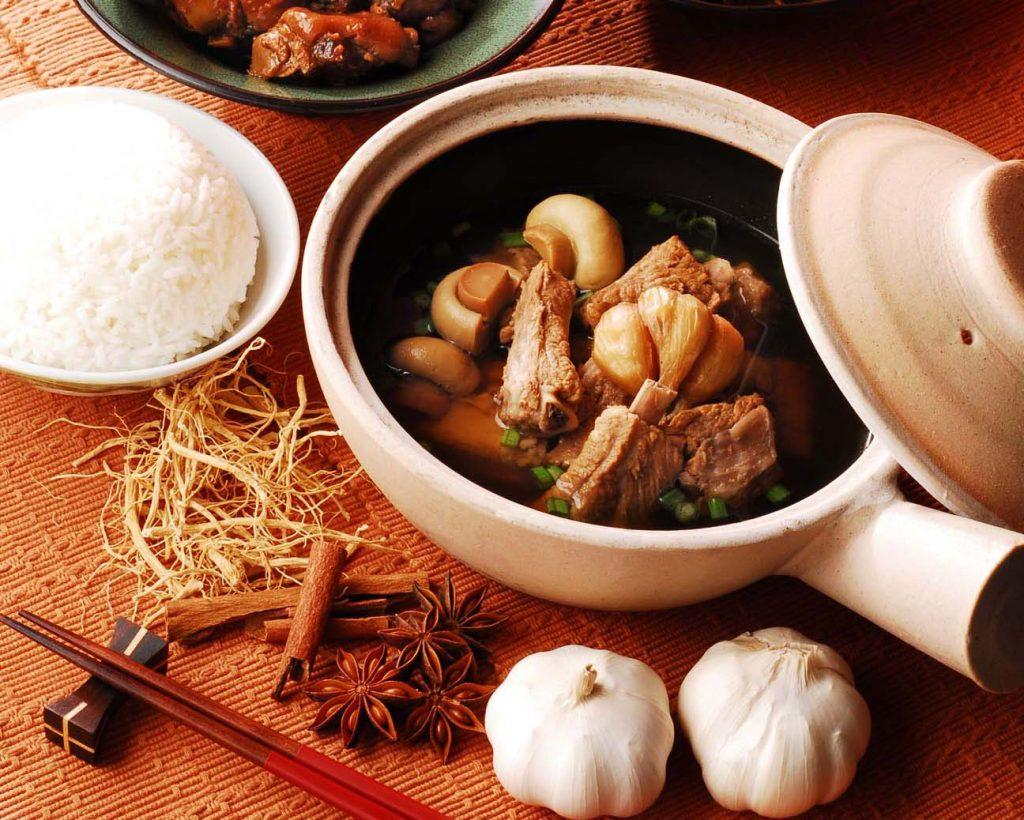 马来西亚食神-白底肉骨茶