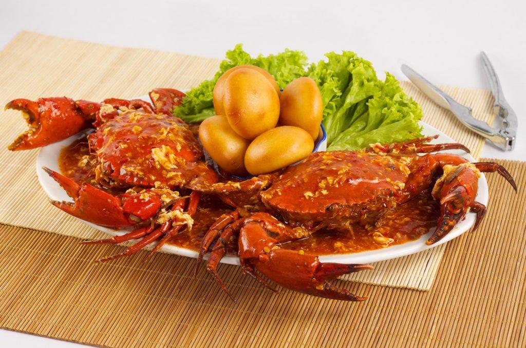 世界美食大师-辣椒螃蟹