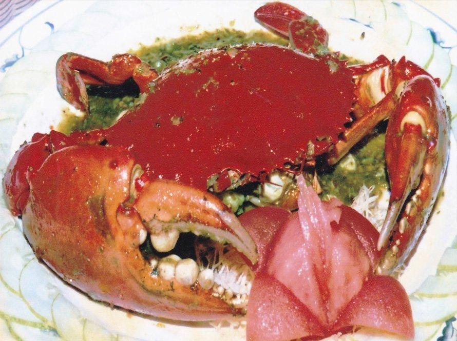 马来西亚食神-斯里兰卡螃蟹