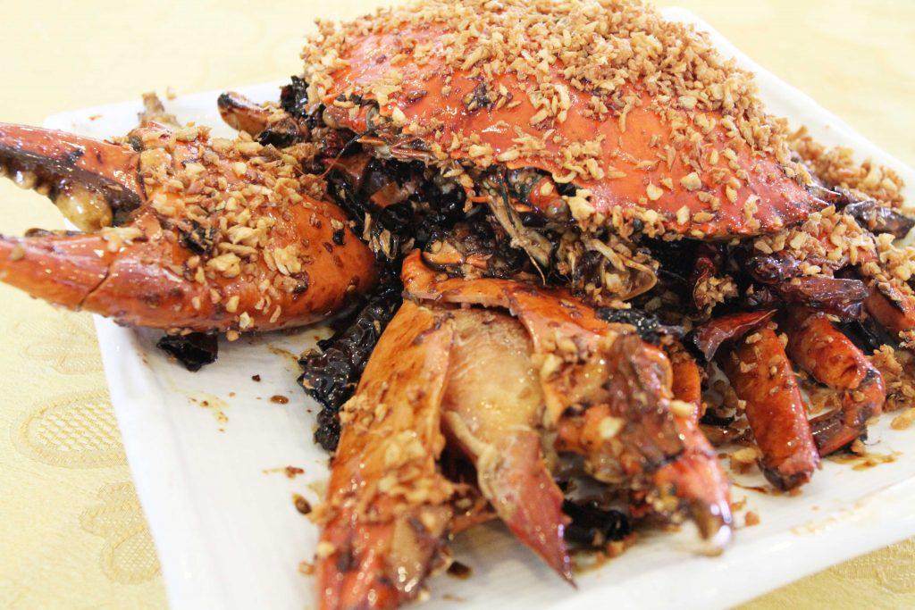 马来西亚食神-避风塘大肉蟹