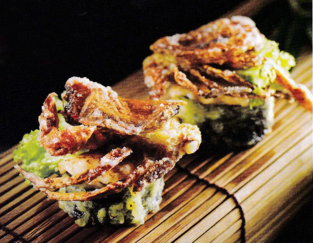 世界美食大师-郑福成 前首相 日本菜 千寿-软壳蟹