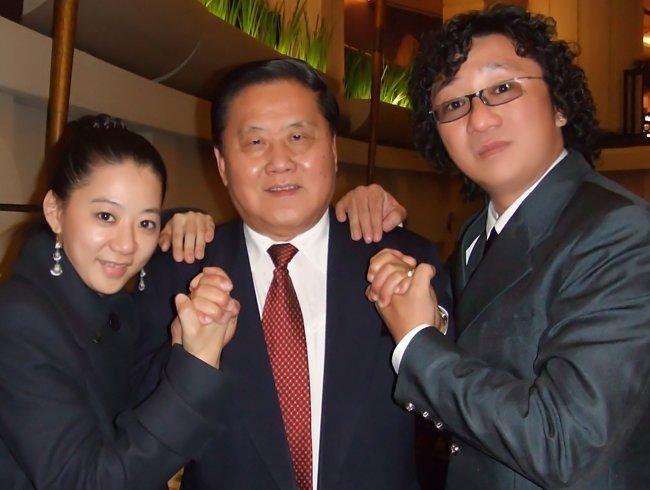 大马美食家食公子、食夫人与拿督杨昆贤