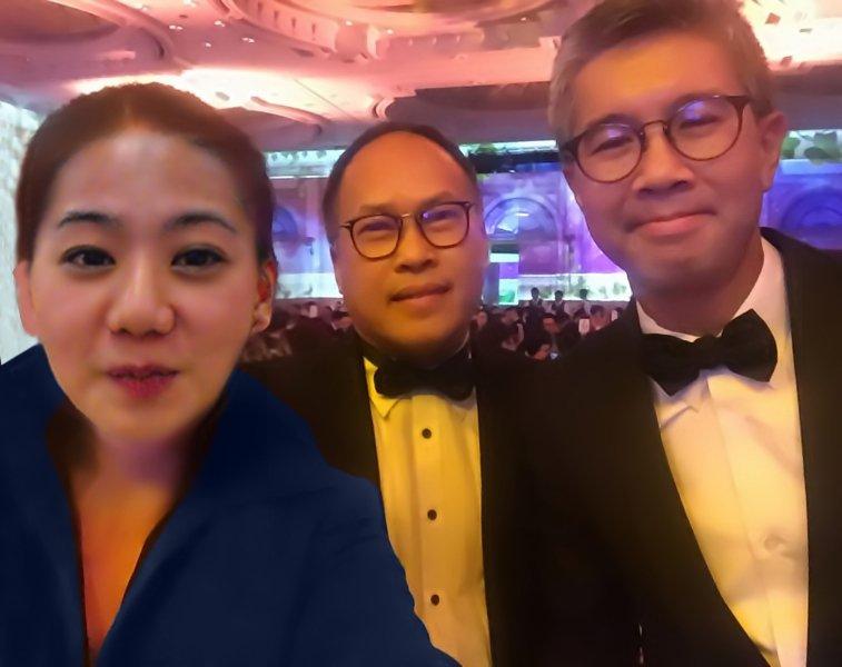 马来西亚食神-东姑赛夫鲁马来西亚财政部长,原联昌国际银行首席执行官以及食夫人