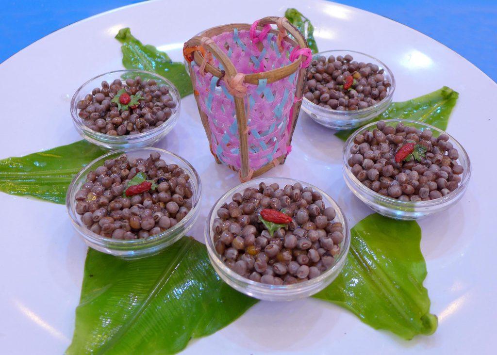 世界美食大师-树豆拌芫茜