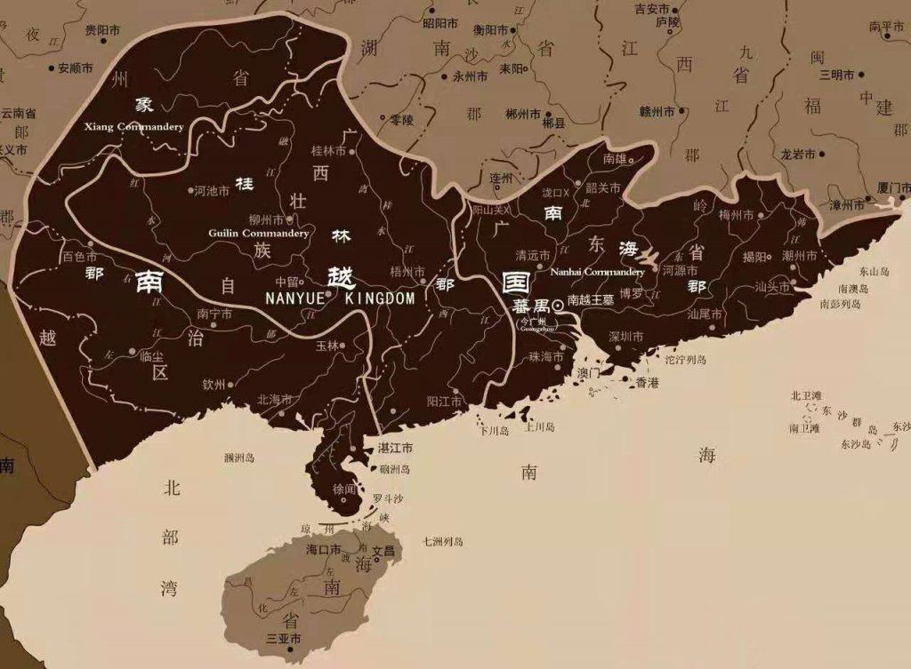 马来西亚食神-南越王古墓 地图