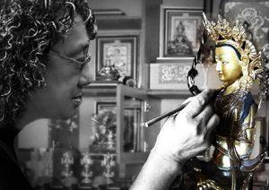 马来西亚食神-画佛像