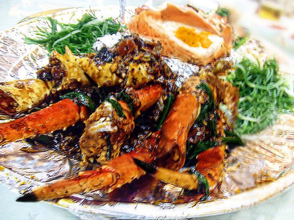 马来西亚食神-阿拉斯加帝王蟹足
