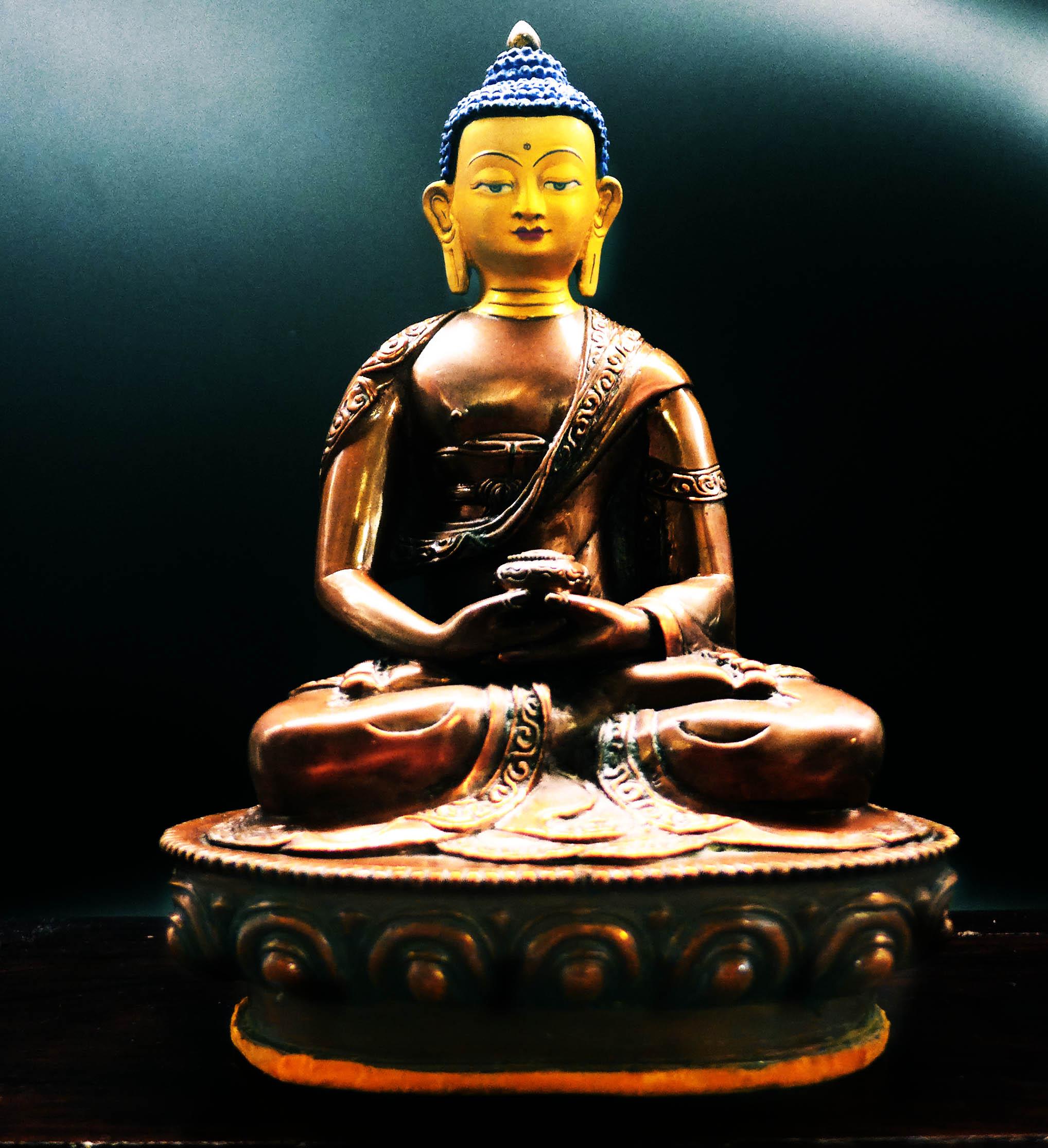 马来西亚食神-阿弥陀佛像